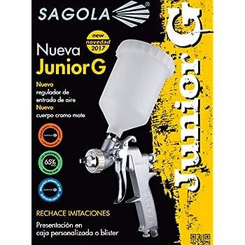 Sagola M260563 G 1 6 Pistolet à Gravité Junior Pour