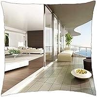 Indoor Outdoor Living - Throw Pillow Cover Case (18