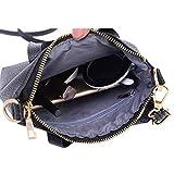 Bluester Vintage Purse Bag Women Fashion Handbag Shoulder Bag Purse Tote Ladies Purse Messenger Bags (Black)