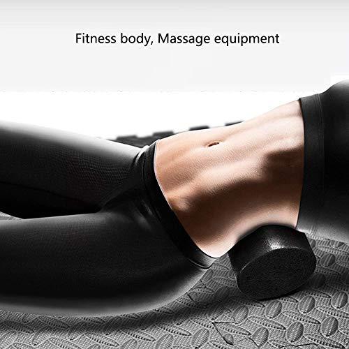 Schaumstoffrolle für tiefe Gewebe-Muskelmassage, überlegene EPP-Massagerolle Myofascial Release Schmerzlinderung Rückenmassagegerät Roller, perfektes Selbstmassage-Werkzeug für Heim-Fitnessstudio,Red - Roller Rückenmassagegerät