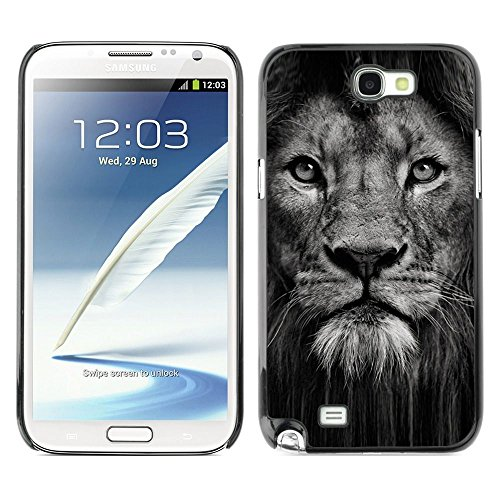 Plastic Shell Protective Case Cover    Samsung Galaxy Note 2 N7100    Nature Animal Big Cat @XPTECH (Samsung Galaxy Stellar Hard Case)