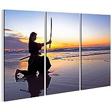 canvashop Quadri moderni cm 120x60 Mare 03 Stampa su tela canvas in ...