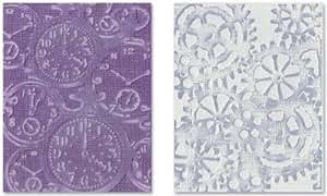 Sizzix 657195 Lot de 2 Ensemble de Montres de Poches/Rouages par Timholtz Plastique Multicolore 18,8 x 13 x 1,7 cm