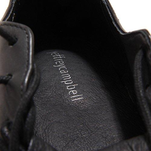 6960O scarpa allacciata JEFFREY CAMPBELL BERLINER nero scarpe donna shoe woman Nero