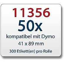 zu Brother DK11202 62 x 100 mm 300 Label 20x Label kompat
