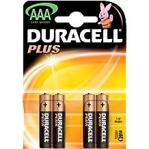 Duracell Plus - Pilas AAA (Paquete de 20 + 4 gratis)