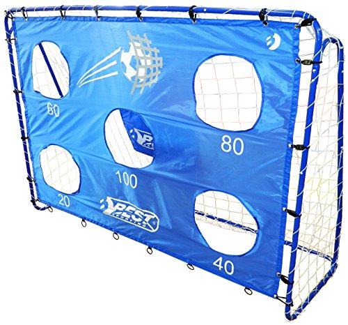 Best Sporting porta da calcio con 5colpi fori, 40cm, giardino e bambini fuessbal cancello porta o parete singolo, Fußballtor inklusive Torwand
