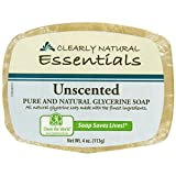 CLEARLY NATURAL BAR SOAP,GLYCERINE,UNSCT...