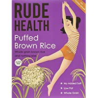 Rude Health Gluten Free Puffed Brown Rice 225g (Case of 4)