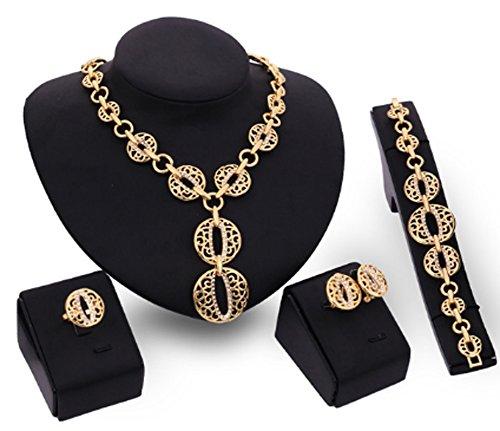 saysure-18-k-gold-plated-hollow-circular-crystal-mosaic-jewelry-set