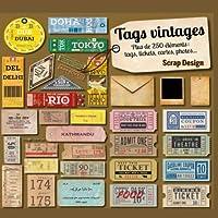 Tags vintages Plus de 250 éléments : tags, tickets, cartes, photos...