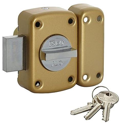 Verrous City - City - Verrou de sécurité bouton pour