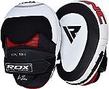 RDX Pattes d'ours Boxe Cuir Vachette MMA Muay Thai Pao Frappe Cible kick Boxing Mitaines Entraînement Pads