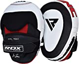 RDX Boxing Hook & Jab Pads MMA Strike Shield Thai Kick Focus Punching Mitts Target Training