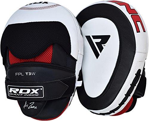 RDX Cuero Vacuno pao Boxeo Paos Kick Boxing Muay Thai Artes Marciales