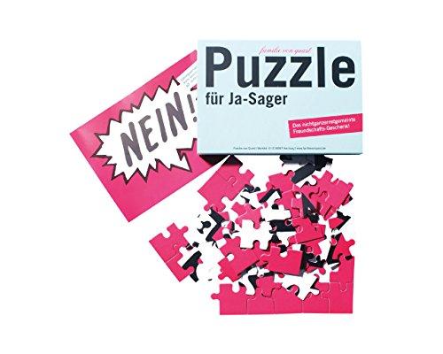 Unbekannt Puzzle für Ja-Sager, Partygeschenk, Funartikel, Geschenkidee