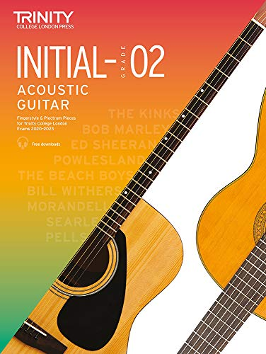 Trinity College London Acoustic Guitar Exam Pieces 2020-2023: Initial-Grade 2