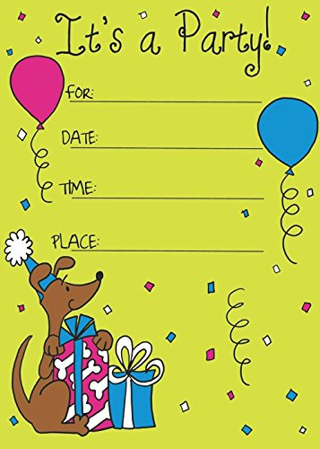 Birthday Invitation Card on Metallic Sheet (Pack of 50 Cards) NBC-006