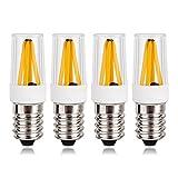 amzdeal E14 LED Lampe 2W, Warmweiß (2700 Kelvin) 180 Lumen 360° Abstrahlwinkel, 4er Pack