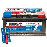 Autobatterie 12 V / 100 Ah - 800 A/EN Silber +30% Ca/Ca PKW + Werkstattlampe