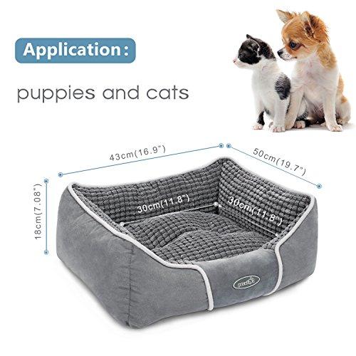 Pecute cuccia morbida per cane gatto da interno cuscino for Cuccia cane morbida