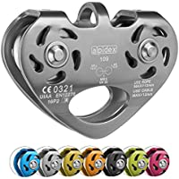 ALPIDEX Polea Tandem Pulley Power 2.0, color: plata