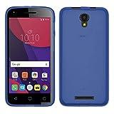 TBOC® Blau Gel TPU Hülle für Alcatel Pixi 4 (5) 3G