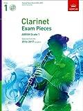ABRSM Clarinet Exam Pieces 2014 –2017 Grade 1 Clarinet, Piano & CD