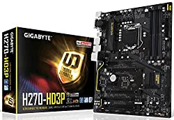 Gigabyte GA-H270-HD3P Lga1151 Intel H270 2-Way Crossfire Hdmi Dvi-D Usb3.1 Type-C M.2 Atx Ddr4 Motherboard
