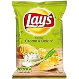 Chips lay's créme & oignon 120g (Prix Par Unité) Envoi Rapide Et Soignée