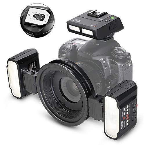 MEIKE MK-MT24II-C 2,4 g Wireless Makro Twin Blitz-Kit für Canon DSLR- und Mirrorless-Kameras