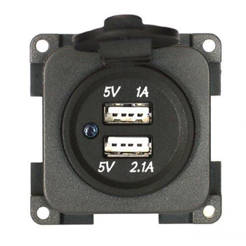 CBE Stromversorgung 2Ports USB-Einbausteckdose 12V CBE–Zubehör Camper–MP2USB/G