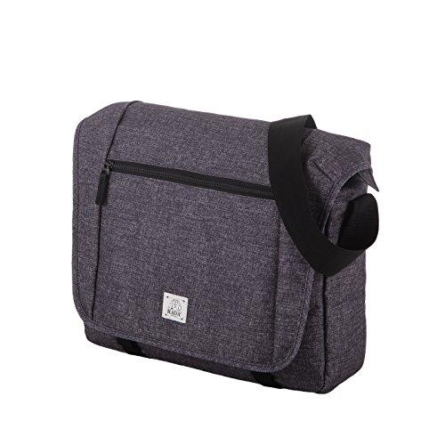 Rada Umhängetasche CT/2/L Laptoptasche in verschiedenen Farben (schwarz) grey two tone cognac