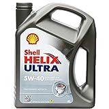 Shell Helix Ultra 5-w40Olio 100% Sintetico Pure per motori benzina e diesel Jerrycan di 4litri