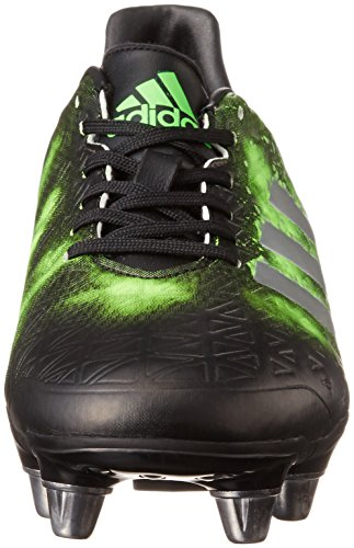 adidas Kakari Elite Sg, Chaussures de Rugby homme Nero (Negbas/Plamet/Versol)