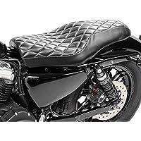 Intruder VS 1400// VS 600// VS 750// VS 800 Marauder VZ 800 Noir Selle si/ège Solo Bobber Slim pour Suzuki Intruder VL 1500//250 LC//VL 800 Volusia LS 650 Savage