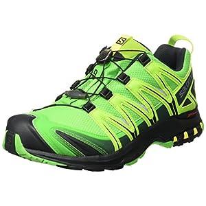 Salomon Xa Pro 3D Gtx, Scarpe da Trail Running Uomo, Verde (Granny Green/Black/Yellow), 44 2/3 EU