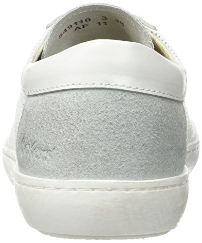 Kickers Real, Baskets Basses Femme Blanc (Blanc)
