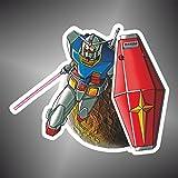 Autocollant GUNDAM Mobile Suit Gundam Manga Dessins animés anime bande dessinée Cartoon Sticker