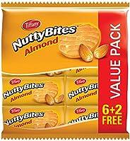 Tiffany Nutty Bites Almond - 8 x 90g