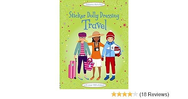 Sticker Dolly Dressing: Travel (Usborne Sticker Dolly