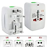 Immortal Universe All in One Universal Power Adapter Worldwide Travel Adapter