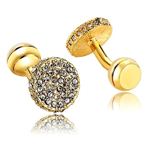 adisaer-stainless-steel-cufflinks-for-men-round-white-cubic-zirconia-gold-business-wedding-cufflink