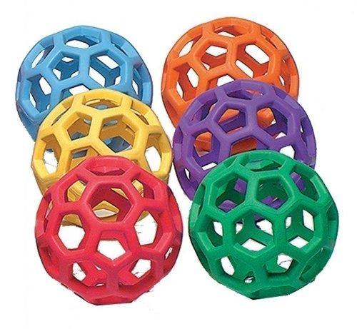 spordas-rubberflex-grabballs-lot-de-6-balles-avec-structure-en-filet-diametre-10-cm-poids-individuel
