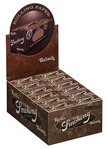 ungebleichte Papers slim unbleached Braun 3x Boxen (72 Rolls) ()