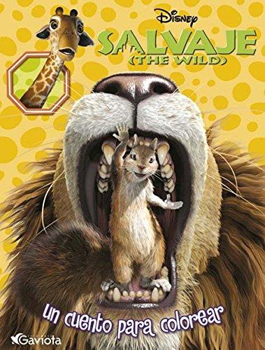 Salvaje (The Wild). Un cuento para colorear