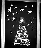 Stickers4 Weihnachtliche Fensteraufkleber, Motiv