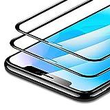 lianaiv Protecteur d'écran Protecteur d'écran pour iPhone X XS XR XS écran 3D de Couverture Total Facile instale La Film de Verre trempé Premium Premium (2pièces)