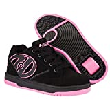 Heelys Propel 2.0 One Wheel Skating Shoe (Black/Hot Pink, 3 UK) by Heelys