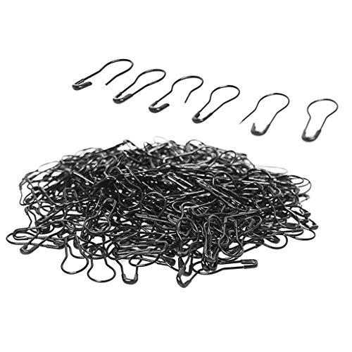 Baoblaze 1000 Birne Pins Kürbis Sicherheitsnadeln Metall Calabash Pins, Stricken Häkeln Locking Maschenmarkierer für DIY Handwerk und Kleidung -